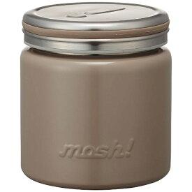 ドウシシャ DOSHISHA フードポット 「mosh!」(容量300ml) DMFP300-BR ブラウン[DMFP300]