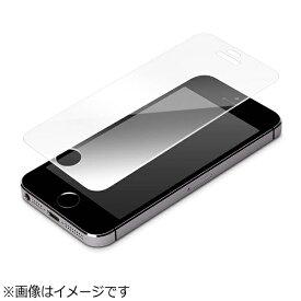 PGA iPhone SE(第1世代)4インチ / 5c / 5s / 5用 液晶保護ガラス ハーフミラー PG-I5EGL06