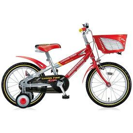 ブリヂストン BRIDGESTONE 16型 幼児用自転車 クロスファイヤーキッズ(レッド&シルバー/シングルシフト) CK166【組立商品につき返品不可】 【代金引換配送不可】