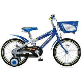 ブリヂストン BRIDGESTONE 18型 幼児用自転車 クロスファイヤーキッズ(ブルー&シルバー/シングルシフト) CK186[CK186]【組立商品につき返品不可】 【代金引換配送不可】