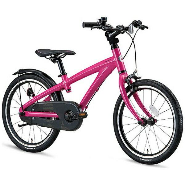 【送料無料】 ブリヂストン 18型 幼児用自転車 レベナ(ピンク/シングルシフト) LV186【組立商品につき返品不可】 【代金引換配送不可】
