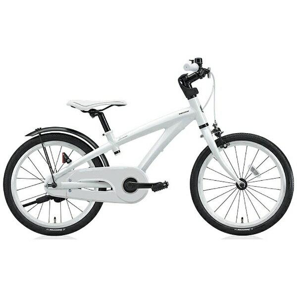 【送料無料】 ブリヂストン 18型 幼児用自転車 レベナ(ホワイト/シングルシフト) LV186【組立商品につき返品不可】 【代金引換配送不可】