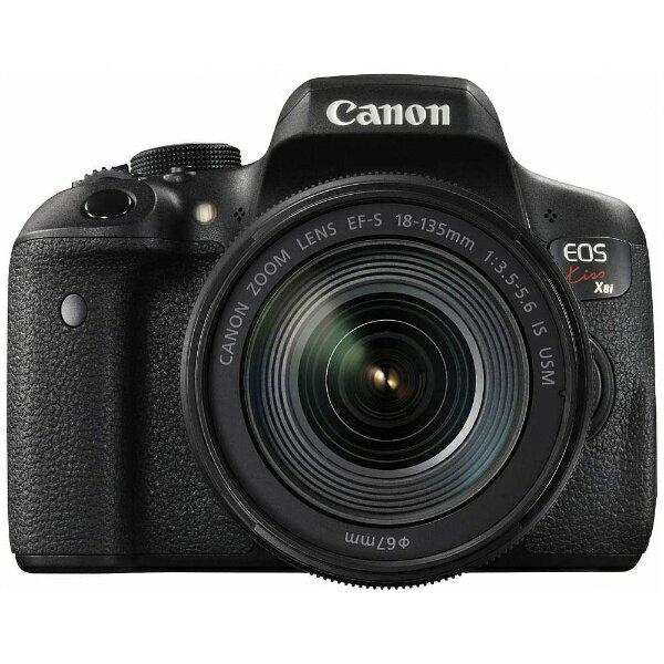 【送料無料】 キヤノン CANON EOS Kiss X8i【EF-S18-135 IS USM レンズキット】/デジタル一眼レフカメラ[生産完了品 在庫限り][KISSX8I18135ISUSMLK]
