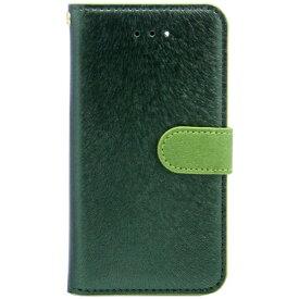 ROA ロア iPhone SE(第1世代)4インチ / 5s / 5用 CALF Diary フォレストグリーン HANSMARE HAN7606i5se スタンド機能 ポケット・ストラップホール付