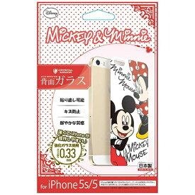 エムディーシー MDC iPhone 5s/5用 Disney背面ガラス ミッキー&ミニー GLASS5-71461