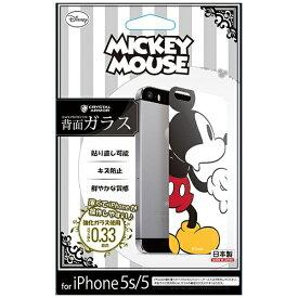 エムディーシー MDC iPhone 5s/5用 Disney背面ガラス ミッキーマウス GLASS5-71457