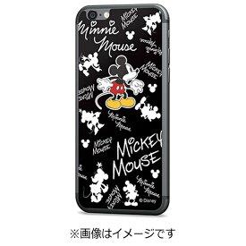 エムディーシー MDC iPhone 6s/6用 Disney背面ガラス ミッキーマウス 総柄 GLASS6-71452