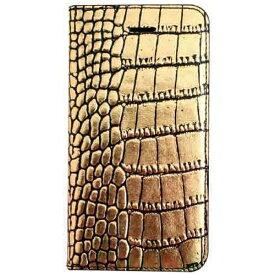 ROA ロア iPhone SE(第1世代)4インチ / 5s / 5用 Gold Croco Diary ゴールド GAZE GZ7549i5se ポケット付
