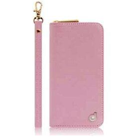 ROA ロア iPhone SE(第1世代)4インチ / 5s / 5用 Zipper お財布付きダイアリーケース ピンク dream plus DP1581i5se ポケット付+ハンドストラップ