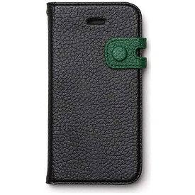 ROA ロア iPhone SE(第1世代)4インチ / 5s / 5用 Color Edge Diary リアルブラック Zenus Z4198i5se ポケット・ストラップホール付