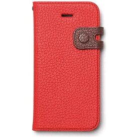 ROA ロア iPhone SE(第1世代)4インチ / 5s / 5用 Color Edge Diary ワインレッド Zenus Z4197i5se ポケット・ストラップホール付
