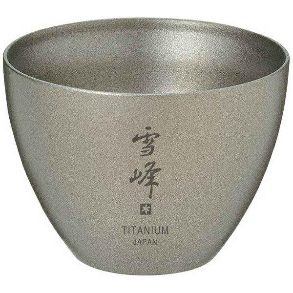 スノーピーク テーブルウェア お猪口 Titanium(55mL) TW-020