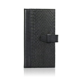TUNEWEAR iPhone 6s/6用 手帳型 SNAKEBOOK ブラック TUN-PH-000374