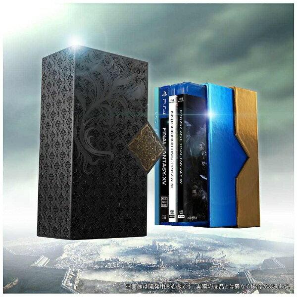 【送料無料】 ソニーミュージックマーケティング Film Collections Box FINAL FANTASY XV PlayStation 4 「FINAL FANTASY XV」ゲームディスク付き 数量限定生産版 【ブルーレイ ソフト】 【代金引換配送不可】