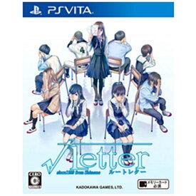 角川ゲームス KADOKAWA GAMES √Letter ルートレター 通常版【PS Vitaゲームソフト】