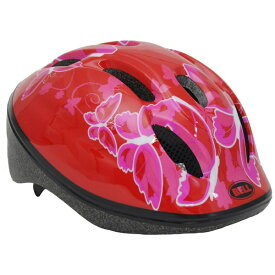 BELL 子供用ヘルメット ZOOM2(レッドバタフライ/52〜56cm) 7072837