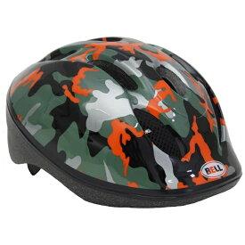 BELL 子供用ヘルメット ZOOM2(オレンジカモ/48〜54cm) 7072828