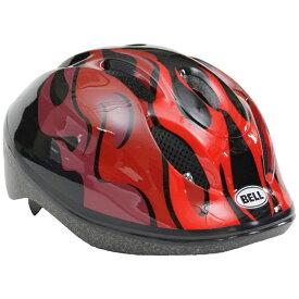 BELL 子供用ヘルメット ZOOM2(ブラック×レッドフレイムス/52〜56cm) 7072823