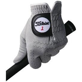 タイトリスト Titleist 【メンズ 左手用】ゴルフグローブ プロフェッショナルテック・グローブ(24cm/グレー)TG56