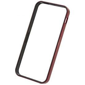 パワーサポート POWER SUPPORT iPhone SE(第1世代)4インチ / 5s / 5用 フラットバンパーセット メタリックレッド PSE-44 液晶保護フィルム・背面フィルム付