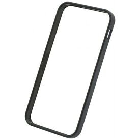 パワーサポート POWER SUPPORT iPhone SE(第1世代)4インチ / 5s / 5用 フラットバンパーセット ブラック PSE-42 液晶保護フィルム・背面フィルム付