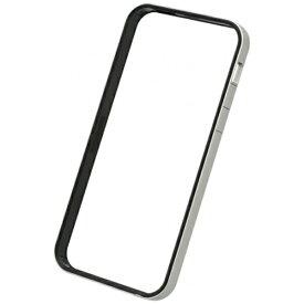 パワーサポート POWER SUPPORT iPhone SE(第1世代)4インチ / 5s / 5用 フラットバンパーセット シルバー&ブラック PSE-45 液晶保護フィルム・背面フィルム付