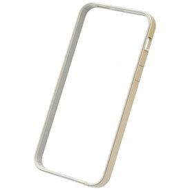 パワーサポート POWER SUPPORT iPhone SE(第1世代)4インチ / 5s / 5用 フラットバンパーセット ゴールド PSE-46 液晶保護フィルム・背面フィルム付