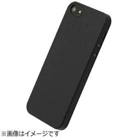 パワーサポート POWER SUPPORT iPhone SE(第1世代)4インチ / 5s / 5用 エアージャケット ラバーブラック PSE-72 液晶保護フィルム付