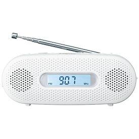 パナソニック Panasonic RF-TJ20 携帯ラジオ ホワイト [AM/FM /ワイドFM対応][手回し充電 2バンドレシーバー RFTJ20W] panasonic