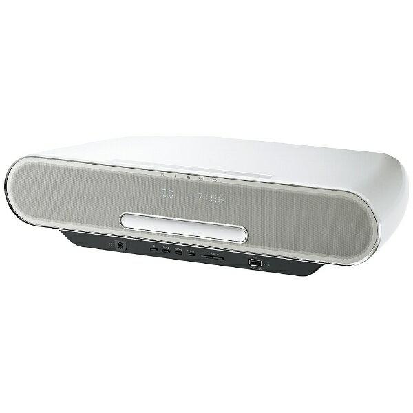 パナソニック Panasonic 【ハイレゾ音源対応】Bluetooth/WiFi対応 コンパクトステレオシステム (ホワイト) SC-RS75-W【ワイドFM対応】[SCRS75W] panasonic