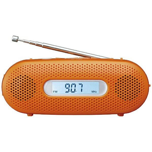 【送料無料】 パナソニック 【ワイドFM対応】FM/AM 防災ラジオ(オレンジ) RF-TJ20-D[RFTJ20D]