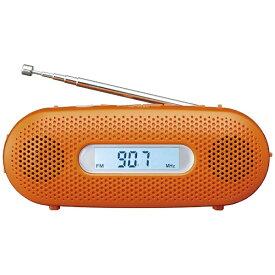 パナソニック Panasonic RF-TJ20D 携帯ラジオ オレンジ [AM/FM /ワイドFM対応][RFTJ20D] panasonic