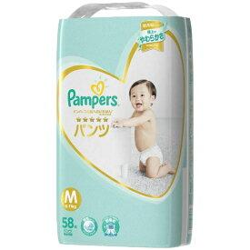 P&G ピーアンドジー Pampers(パンパース) 肌へのいちばん パンツ ウルトラジャンボ Mサイズ(6kg-10kg) 58枚〔おむつ〕