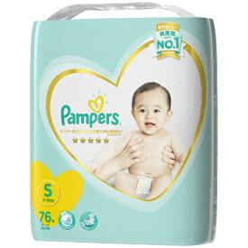 P&G ピーアンドジー Pampers(パンパース) はじめての肌へのいちばん テープ ウルトラジャンボ Sサイズ(4kg-8kg) 76枚〔おむつ〕【wtbaby】
