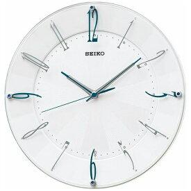 セイコー SEIKO 掛け時計 【スタンダード】 白パール KX214W [電波自動受信機能有][KX214W]