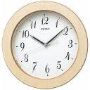 【送料無料】 セイコー 電波掛け時計 「ナチュラルスタイル」 KX216A