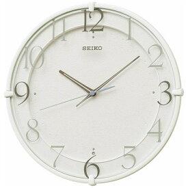 セイコー SEIKO 掛け時計 【スタンダード】 白 KX215W [電波自動受信機能有]