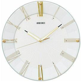 セイコー SEIKO 掛け時計 【スタンダード】 白パール KX214H [電波自動受信機能有]