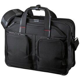 サンワサプライ SANWA SUPPLY ノートPC対応[15.6インチタブレット] エグゼクティブビジネスバッグPRO ブラック BAG-EXE8[BAGEXE8]