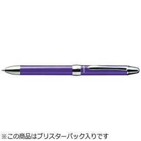 ぺんてる Pentel [多機能ペン] ビクーニャEX1 バイオレット (インキ色:黒・赤+シャープ0.5mm) XBXW1375V