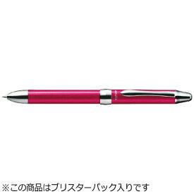 ぺんてる Pentel [多機能ペン] ビクーニャEX1 ピンク (インキ色:黒・赤+シャープ0.5mm) XBXW1375P