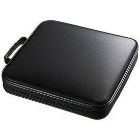 サンワサプライ SANWA SUPPLY DVD・CDセミハードケース 160枚収納 ブラック FCD-WL160BK[FCDWL160BK]