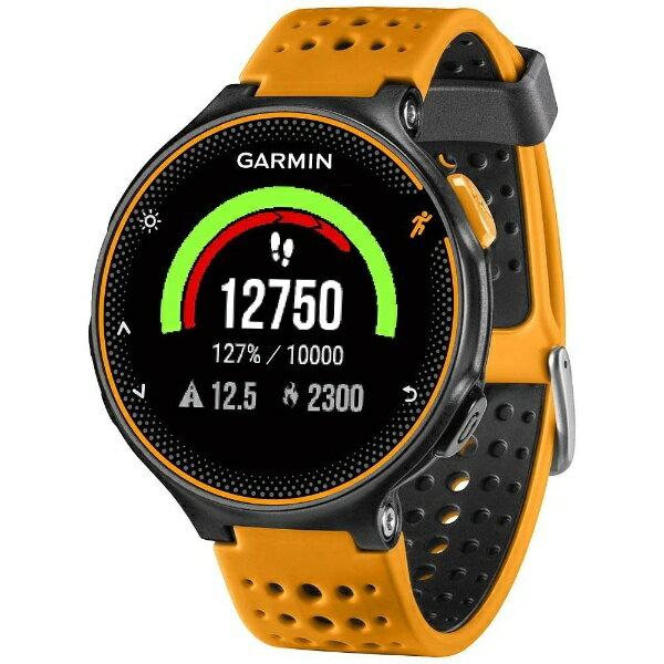 GARMIN ガーミン GPSマルチスポーツウォッチ 「ForeAthlete235J」 37176J (BlackOrange)[37176J]【正規品】[37176J]