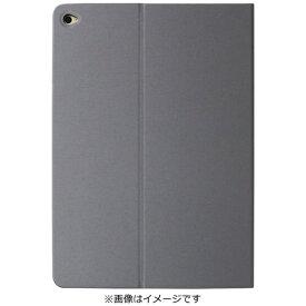 OWLTECH オウルテック iPad Air 2用 ヘアライン フラップケース グレー OWL-CVIPA204-GY[OWLCVIPA204GY]