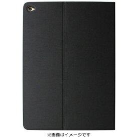 OWLTECH オウルテック iPad Air 2用 ヘアライン フラップケース ブラック OWL-CVIPA204-BK[OWLCVIPA204BK]