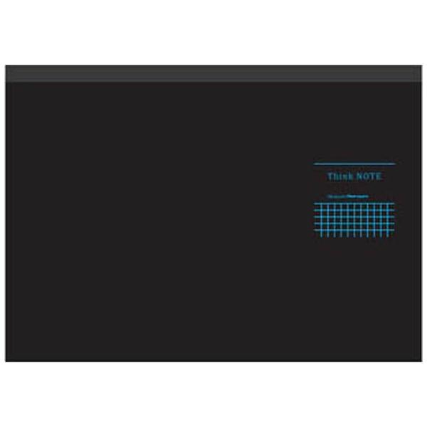 ナカバヤシ [ノート] ナカバヤシ ロジカル・シンクノート ブラック・ブルー (A4ヨコ・5mm方眼・70枚) RP-A402DB