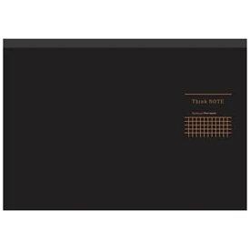 ナカバヤシ Nakabayashi [ノート] ナカバヤシ ロジカル・シンクノート ブラック・グレー (A4ヨコ・5mm方眼・70枚) RP-A402DN