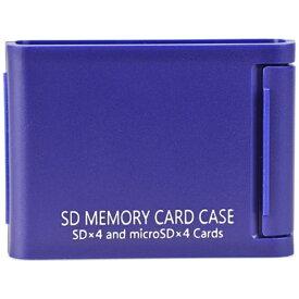 ケンコー・トキナー KenkoTokina SDメモリーカードケースAS 4枚収納 ブルー ASSD4BU