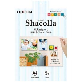 富士フイルム FUJIFILM シャコラ(shacolla) 壁タイプ 5枚パック A4サイズ
