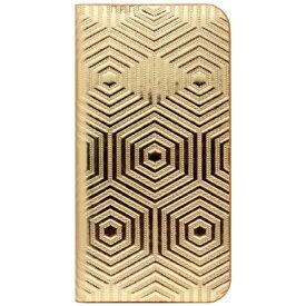ROA ロア iPhone SE(第1世代)4インチ / 5s / 5用 レザーケース Metal Leather Diary ゴールド SLG Design SD7656i5se +液晶保護フィルム ポケット付